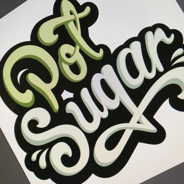 Working on a new typographic logo Love these projects! logodesignhellip