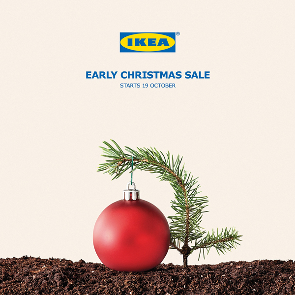 Ikea Holiday Ad Example One Five Nine Design